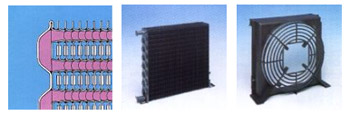 Tubeless steel condensers
