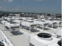 ARUBA – Arezzo, Italy - Data centre air conditioning  - 66 units - SAV7N 8421 air cooled condensers