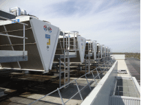 INTERMARCHE'  LOGISTIC CENTER (TOLOSA AREA), installation of