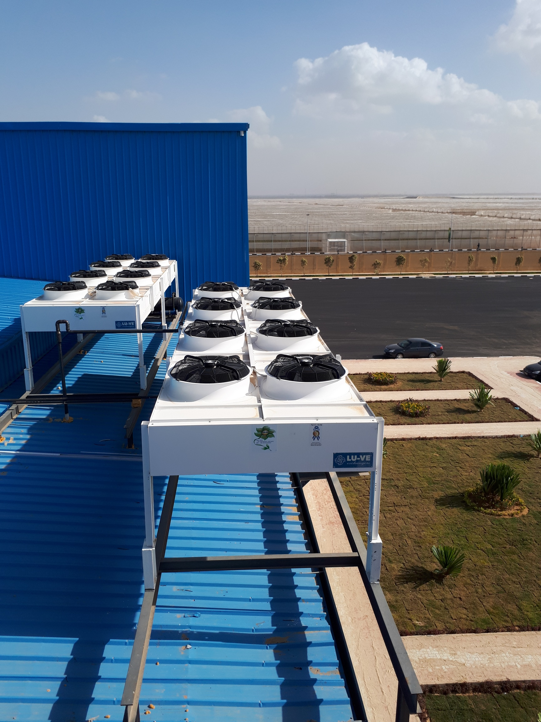 Project name: Cold store and packaging facility for agri product in Cairo<br/>