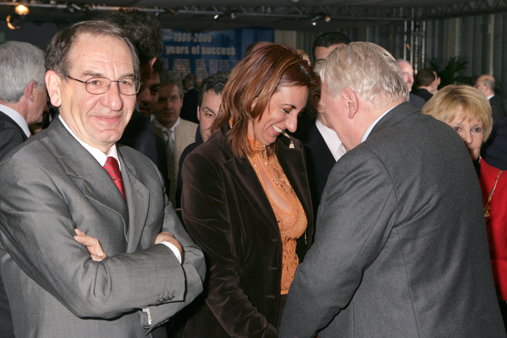 Mr. Luigi Di Palma, Mrs. Loredana Rotolo and Mr. Iginio Liberali