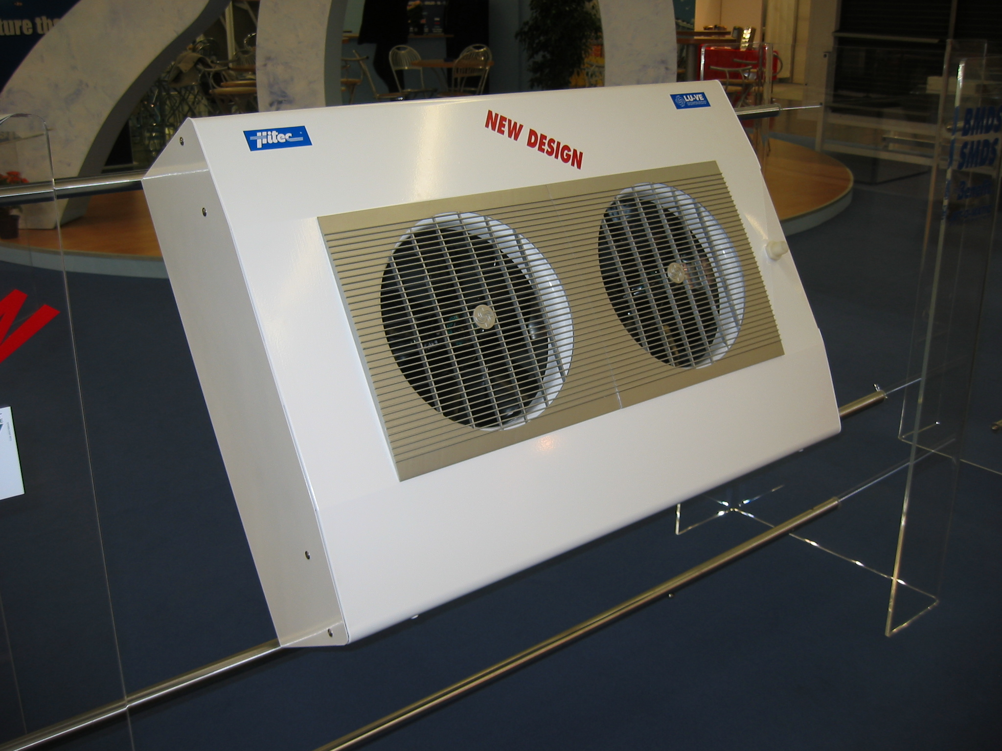 NEW BMD - Dual discharge unit cooler