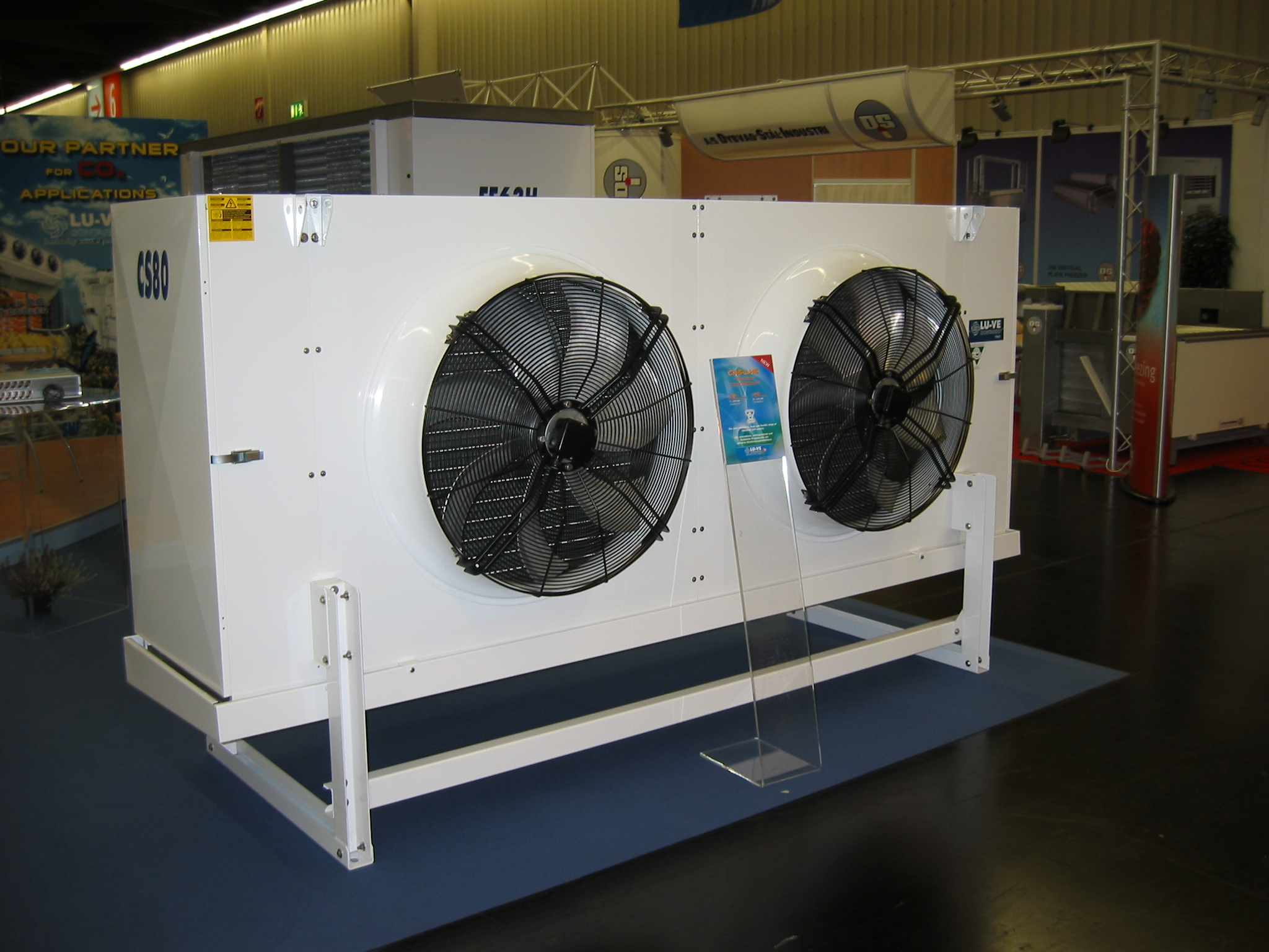 CS 80 - Industrial unit cooler