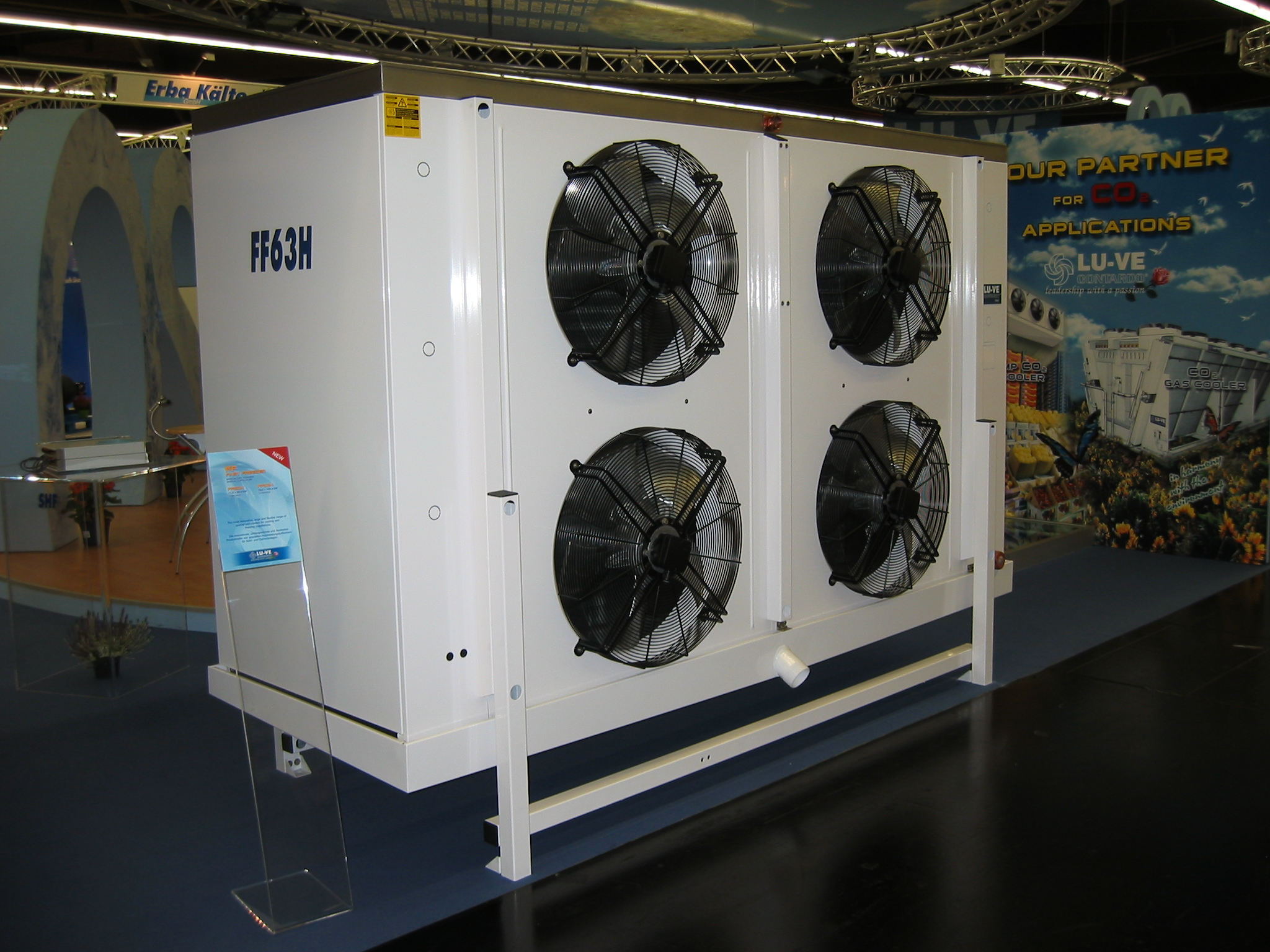 FF FAST FREEZER - Special industrial unit cooler