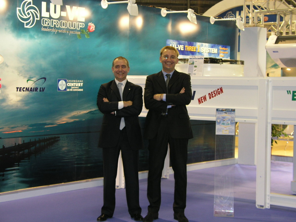 Fabio Liberali (PR manager) and Matteo Liberali (commercial director)