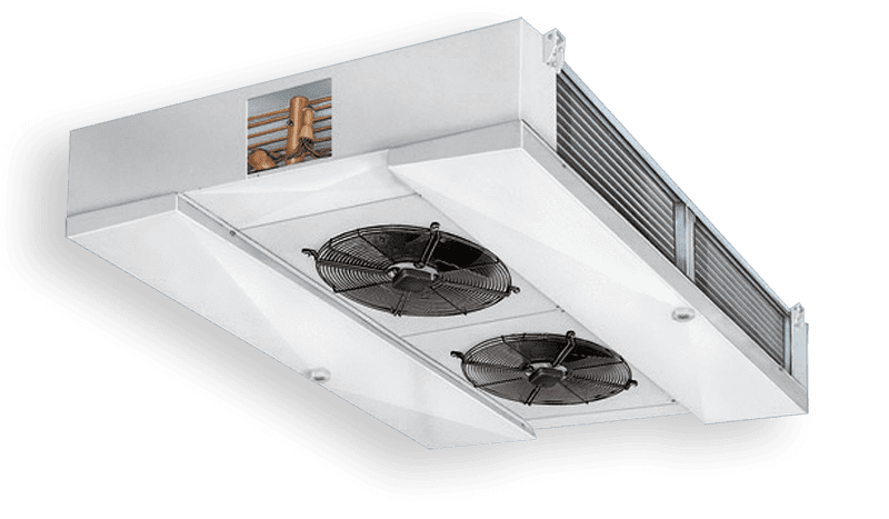 Evaporateurs ventilés industrial a double flux CDH