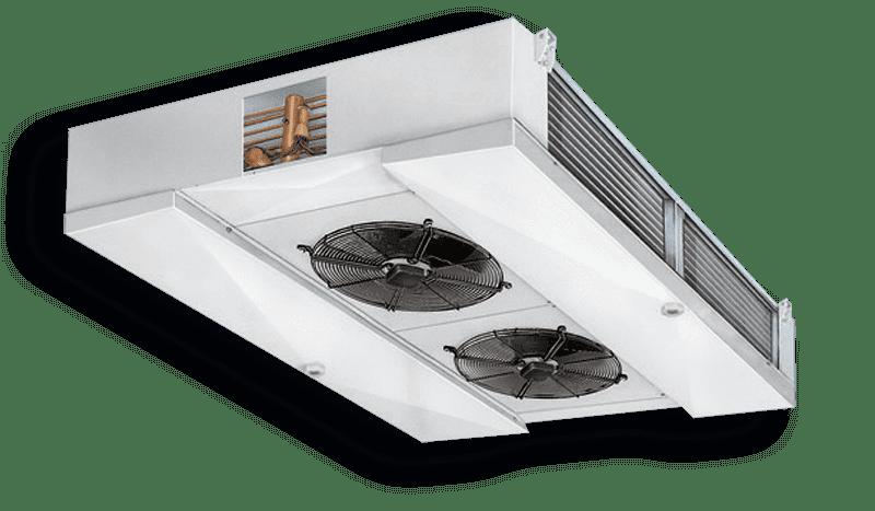 Промышленные воздухоохладители Двухпоточные CDH