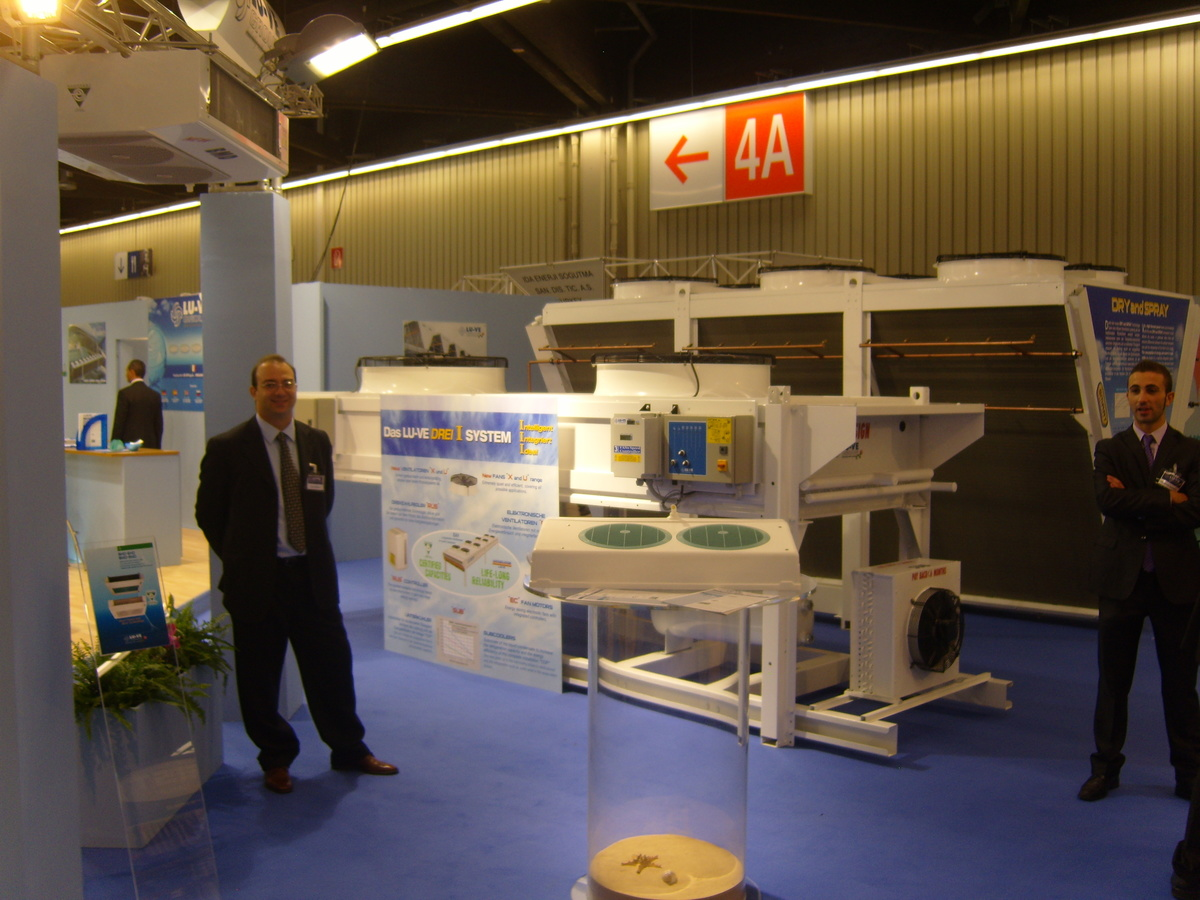 LU-VE Group Stand