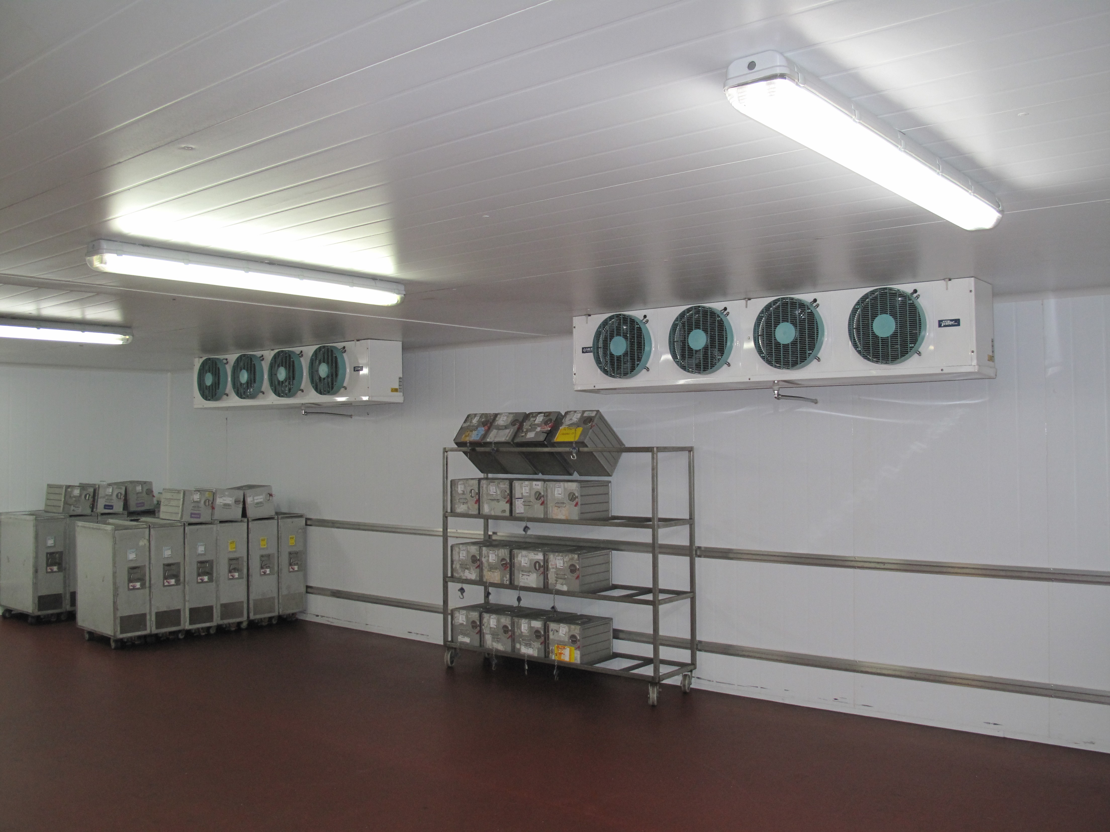 UK catering facility with S3HC coolers - Birmingham