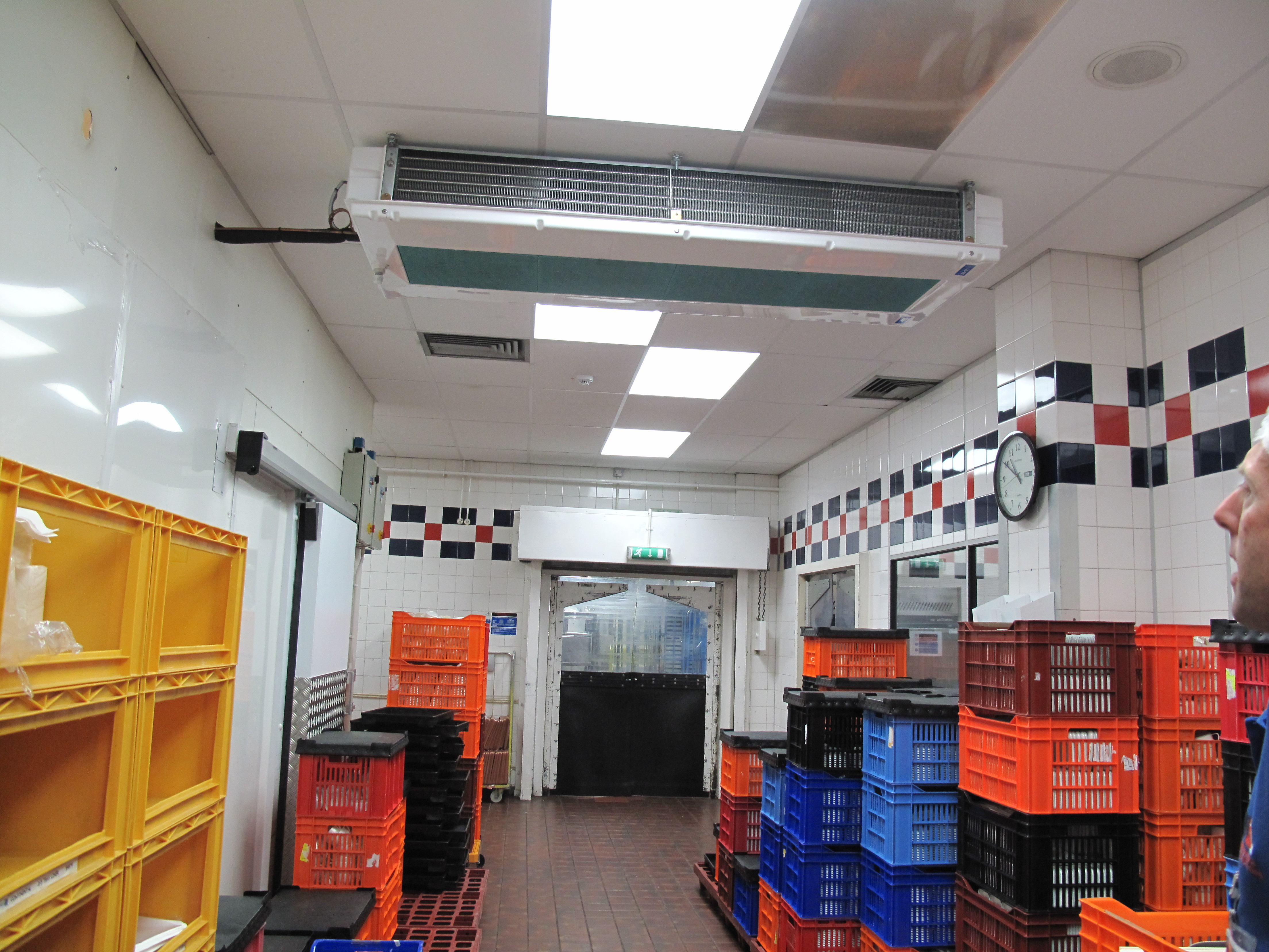 UK catering facility with SHDS cooler - Birmingham